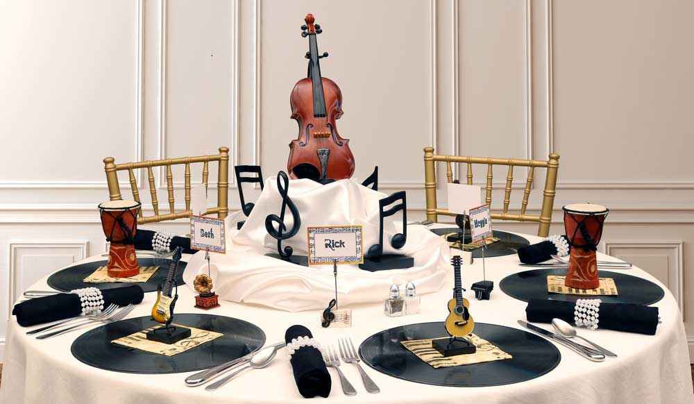 Swell Music Song Dance Theme Party Decorations Interior Design Ideas Ghosoteloinfo