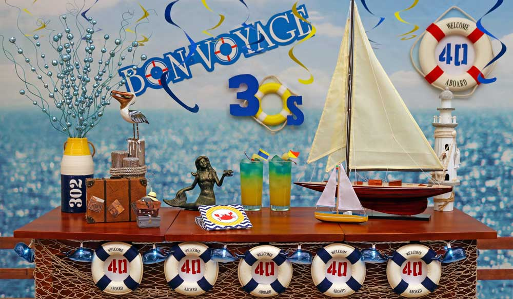 nautical theme birthday party decorations for adults