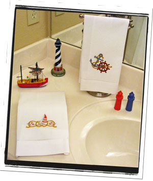 Nautical Bathroom Decorating