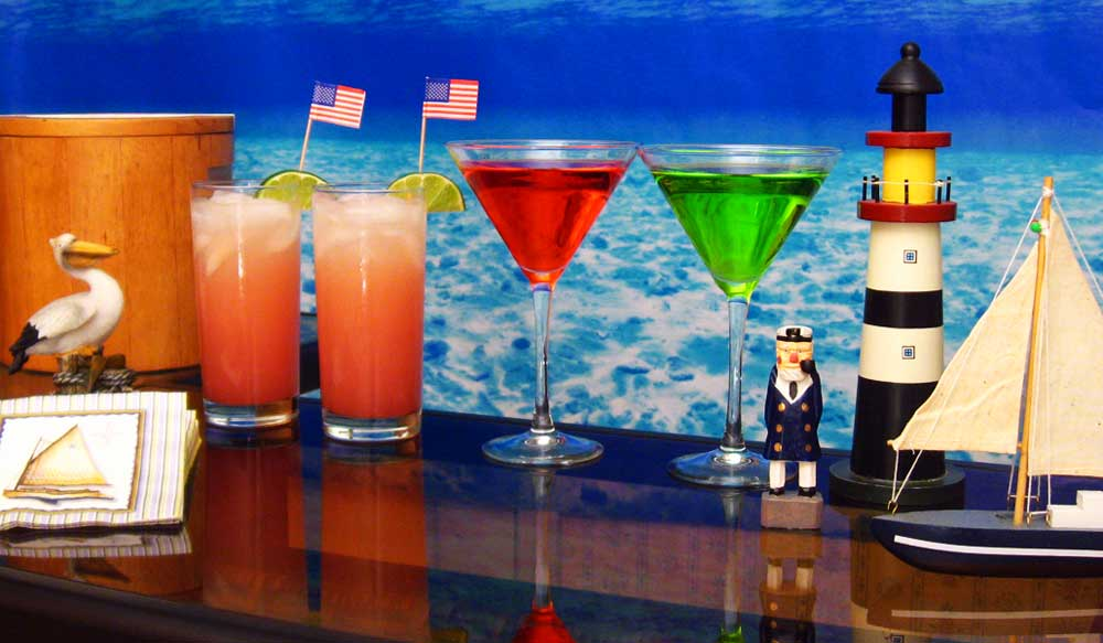 Nautical & Sailing Cocktail Ideas & Recipes