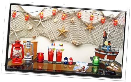 Rustic Nautical Bar Decorations