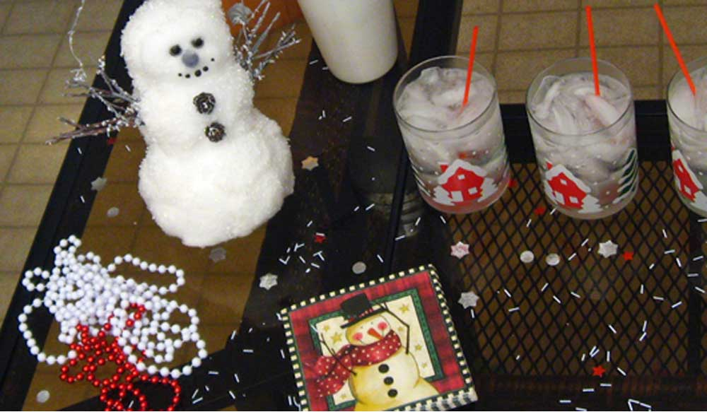 Snowman, Winter & Holiday Party Cocktail Recipes