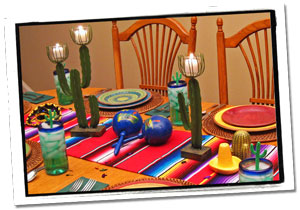 Mexican Centerpiece Party Decorations