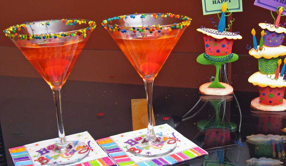Cocktail Ideas For A Birthday Theme Party Drink Recipes