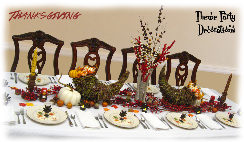 Merveilleux Ideas For Autumn, Fall, U0026 Thanksgiving Dinner Decorating U0026 Centerpieces