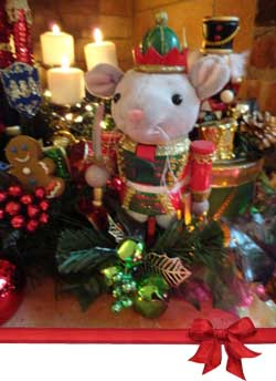 Nutcracker Mouse King Christmas Centerpiece