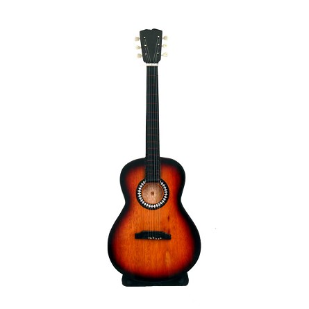 "10"" Acoustic Tobacco Burst Guitar With Stand"