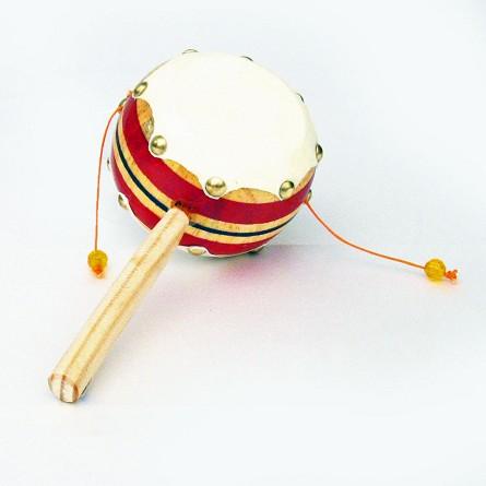 authentic mexican pellet drum rattle drum percussion fiesta