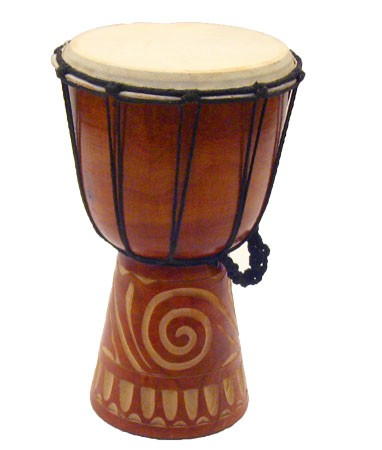 Rustic Djembe Tribal Drum - 3 sizes