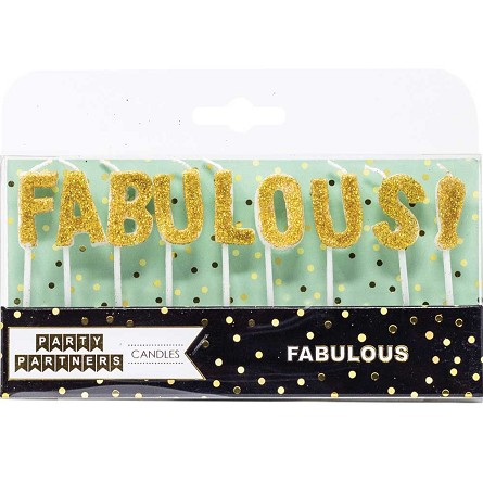 Glittered FABULOUS! Any Occasion Candles