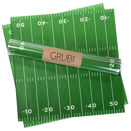 Football Field Food Service Paper Liners (12)