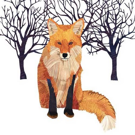 Winter Red Fox Napkins (20) - 2 sizes
