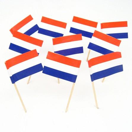 dutch flag toothpicks netherlands holland theme party decorations