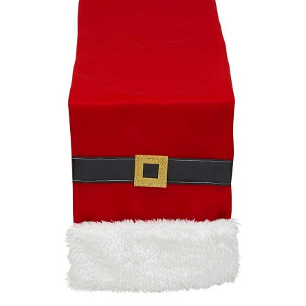 100% Cotton Santa Suit Table Runner