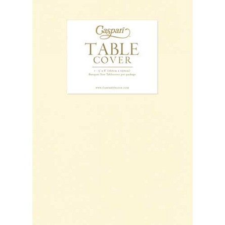 5' x 8' Banquet-Size Paper Linen Tablecover - 2 colors **CLEARANCE**