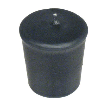 Graphite Votive Candle - 15 hr, Unscented, Flared