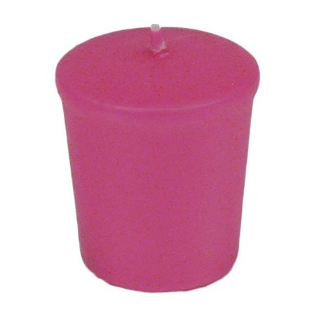 Fuchsia | Hot Pink 15 hr Unscented Votive Candle