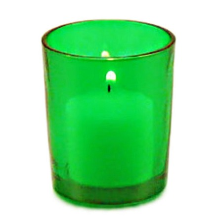 Green Votive Holder **CLEARANCE**