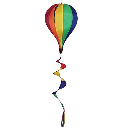 Gay Rainbow Flag Hot Air Balloon Spinner With Tail Pride