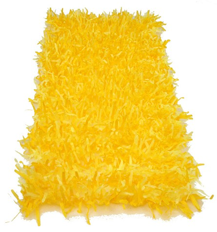 Golden Yellow Tissue Grass Decoration (2) **CLEARANCE**