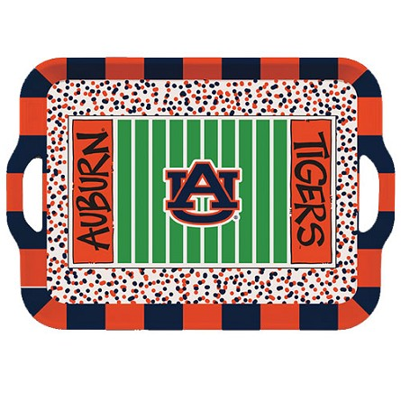 "15"" Auburn University Melamine Stadium Tray"