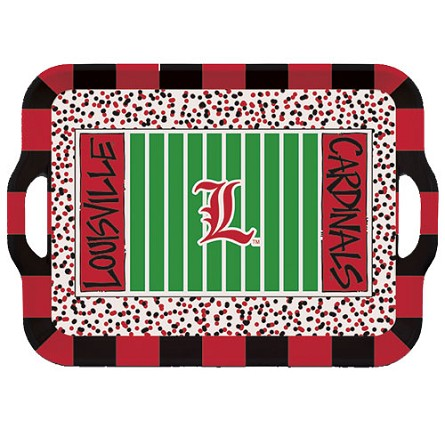 "15"" University of Louisville Melamine Stadium Tray"