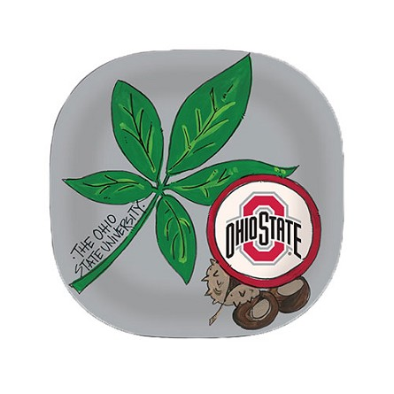 "10"" Ohio State University Melamine Plate"