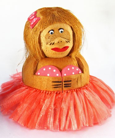 Coconut Hula Girl