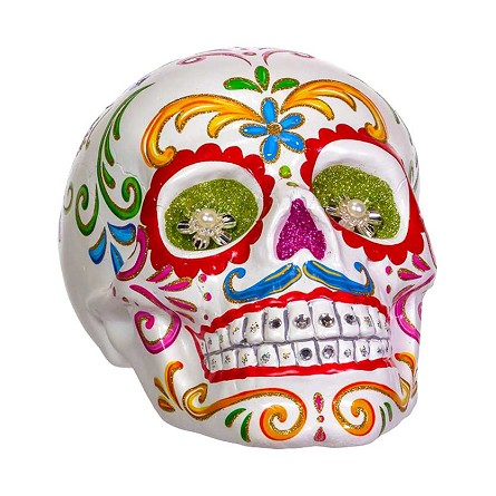 Life-Size Day of the Dead Sugar Skull Centerpiece