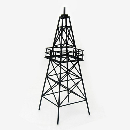 "13.5"" Metal Oil Derrick Tower Centerpiece"