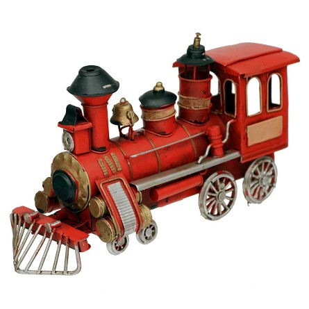 Decorative Train Locomotive Centerpiece