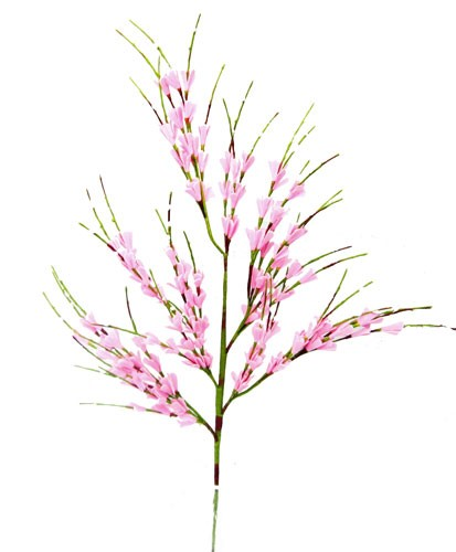 "29"" Pink Spring Blossoms Floral Spray"