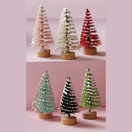 Mini Evergreen Tree Forest (24) - 2 colors